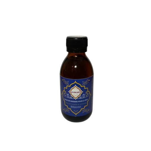 """brahmi-huile-de -massage-ayurvédique """