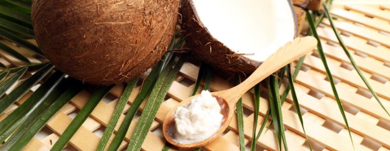huile de coco ayurvedique